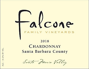 Falcone Chardonnay, Santa Barbara County 2018