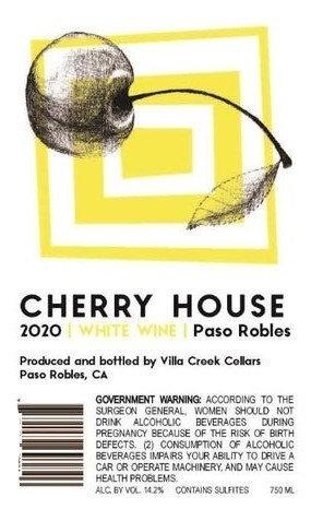 Cherry House White Wine, Paso Robles 2020
