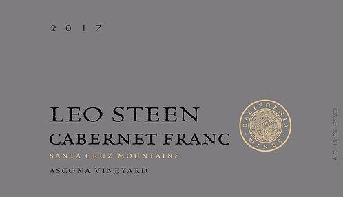 Leo Steen Cabernet Franc, Ascona Vineyard Santa Cruz Mountains 2017