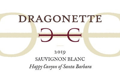 Dragonette Sauvignon Blanc, Happy Canyon of Santa Barbara 2019
