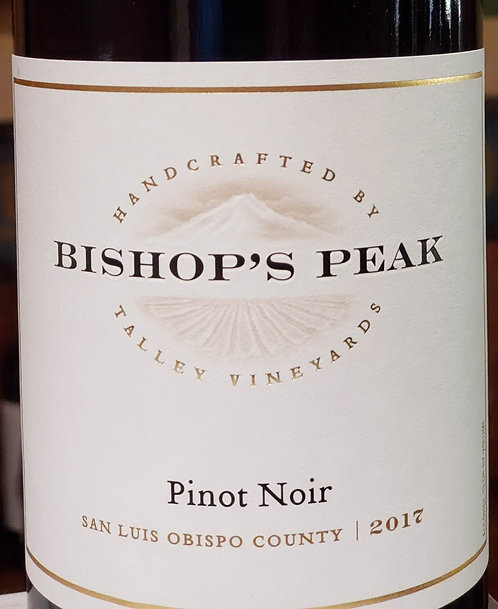 Bishop's Peak Pinot Noir, San Luis Obispo County 2017