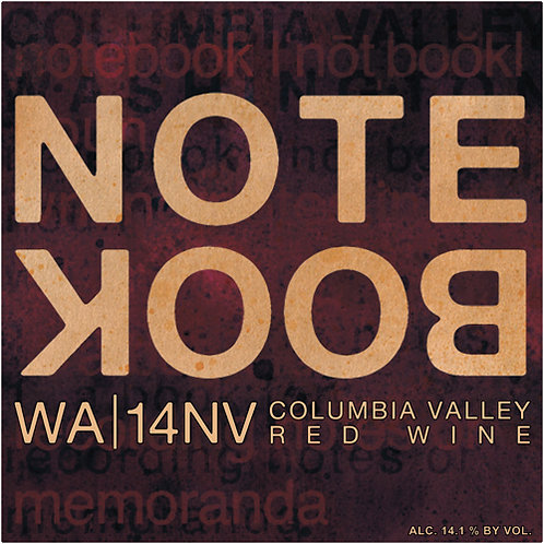 "J. Bookwalter ""Notebook"" NV"
