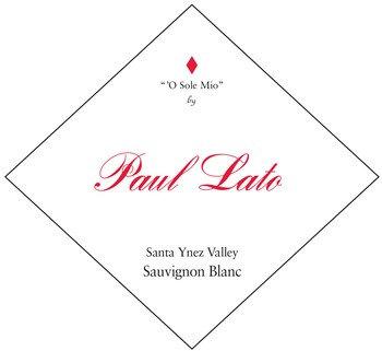 Paul Lato O Sole Mio Sauvignon Blanc, Santa Ynez Valley 2019