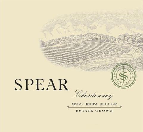 Spear Estate Chardonnay, Sta Rita Hills 2017