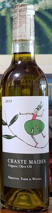 Preston Farm & Winery Chaste Maiden Organic Olive Oil 2019  375ml