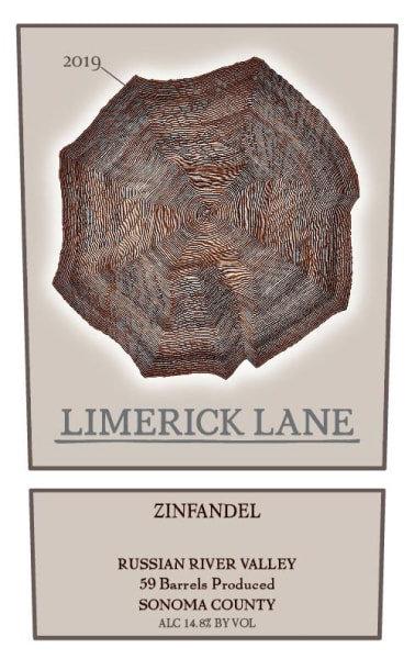 Limerick Lane Zinfandel, Russian River Valley 2019