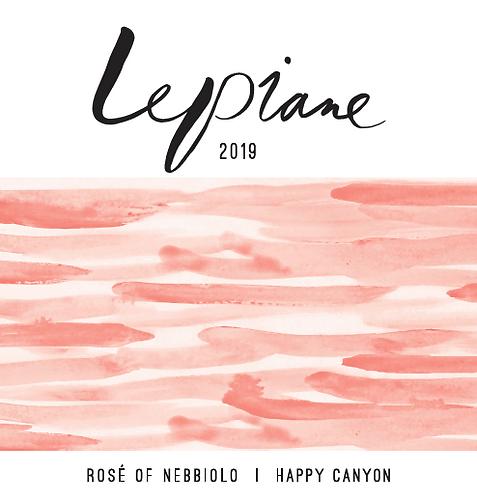 LA Lepiane Rosé of Nebbiolo, Happy Canyon 2019