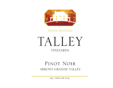 Talley Pinot Noir, Arroyo Grande Valley 2017