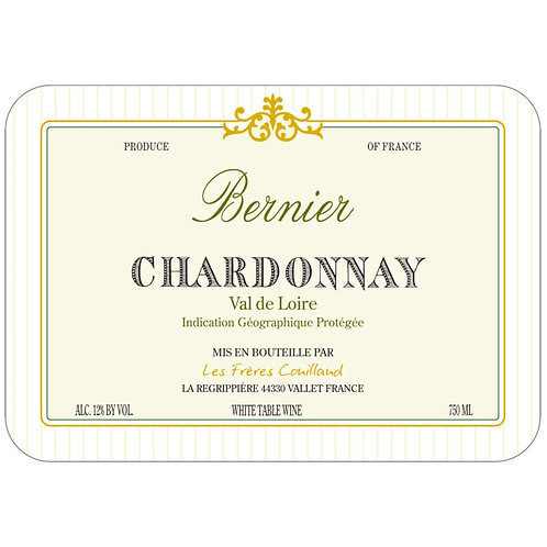 Bernier Chardonnay,Val de Loire 2018
