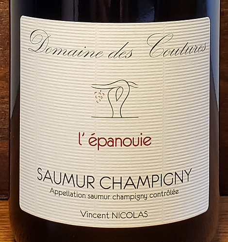 Domaines des Coutures L'epanouie, Saumur Champigny 2017