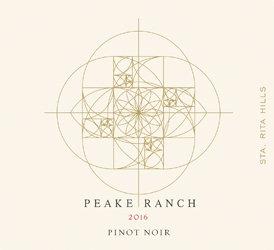 Peake Ranch Pinot Noir, Sta Rita Hills 2016