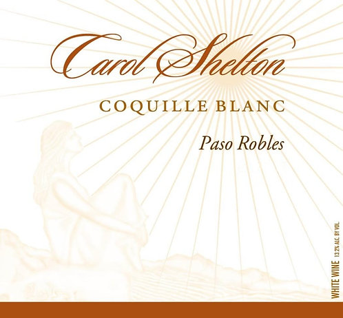 Carol Shelton Coquille Blanc, Paso Robles 2018