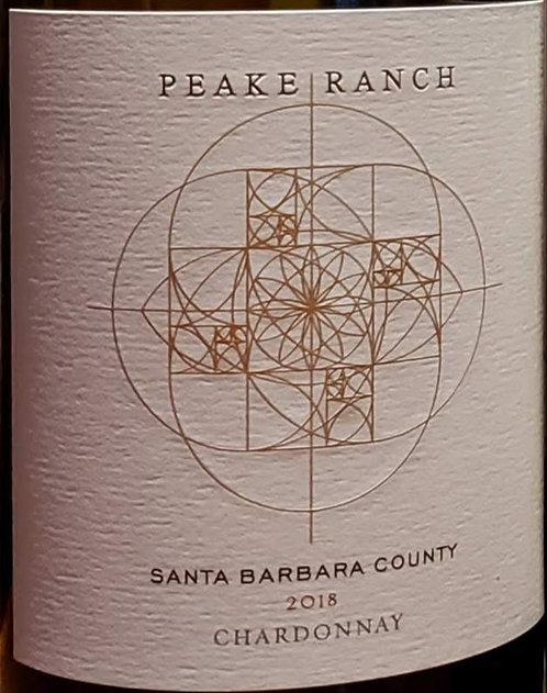 Peake Ranch Chardonnay, Santa Barbara County 2018