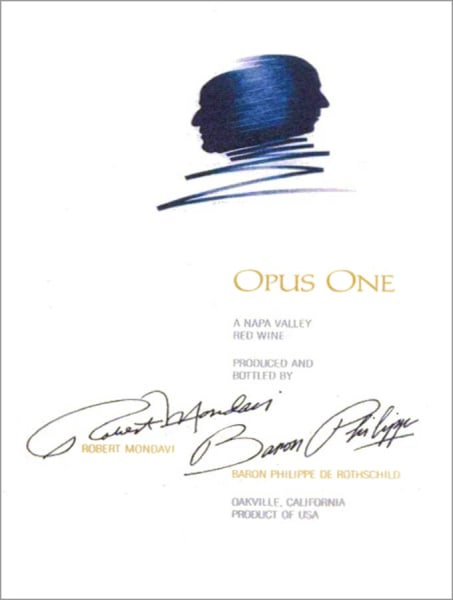 Opus One Red Wine, Napa Valley 2014
