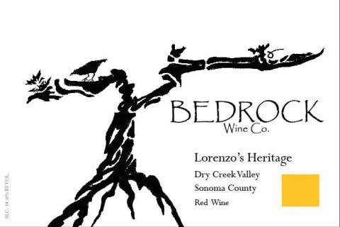 Bedrock Lorenzo's Heritage, Dry Creek Valley Sonoma 2017