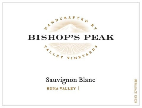 Bishop's Peak Sauvignon Blanc, Edna Valley 2018