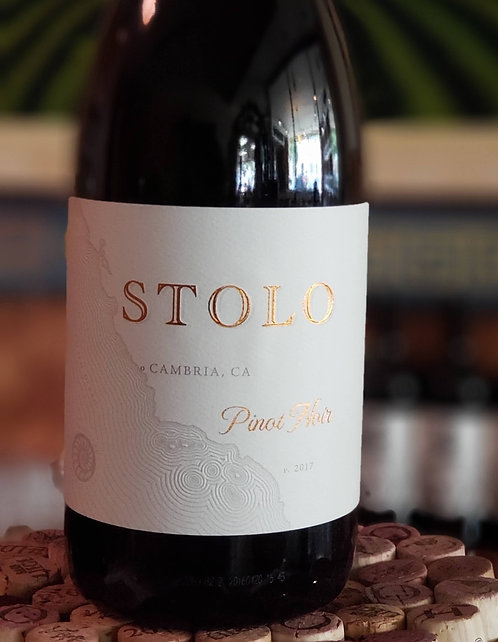 Stolo Pinot Noir Estate, SLO County 2017
