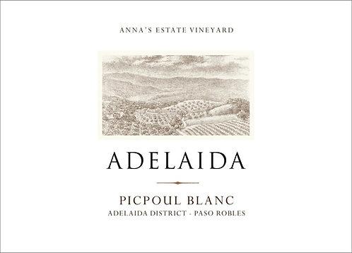 Adelaida Picpoul Blanc, Adelaida District Paso Robles 2019