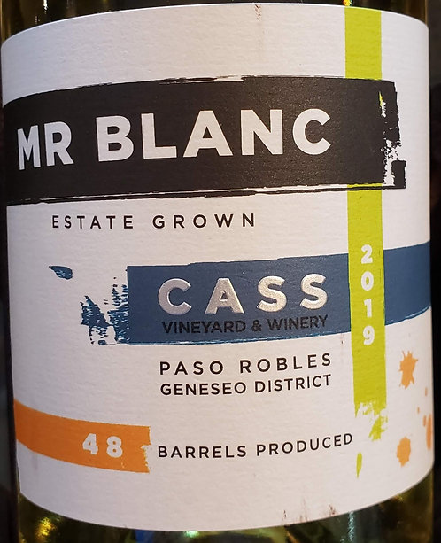 Cass Mr Blanc, Geneseo District Paso Robles 2019