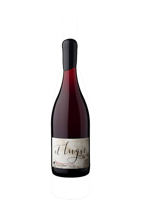 El Lugar Pinot Noir, Spanish Springs Vnyd San Luis Obispo County 2018