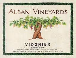 Alban Vineyards Viognier, Central Coast 2018