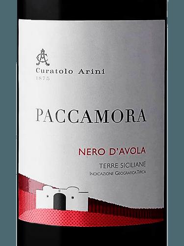 Paccamora Nero d'Avola, Sicilia 2018