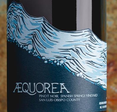 Aequorea Pinot Noir, Spanish Springs San Luis Obispo County 2017