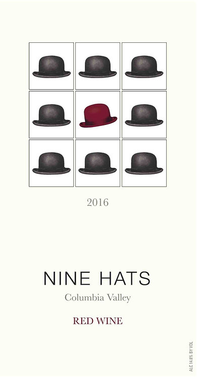 Nine Hats Red Wine, Columbia Valley 2016