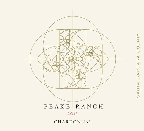 Peake Ranch Chardonnay, Santa Barbara County 2017