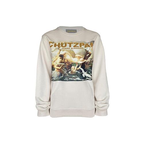 Chutzpah Creme Sweater Without Straps