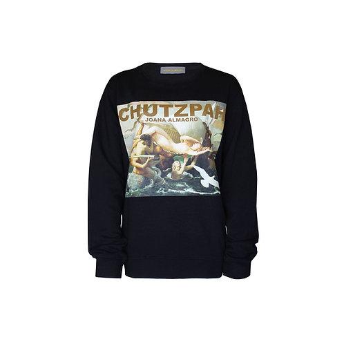Chutzpah Black Sweater Without Straps