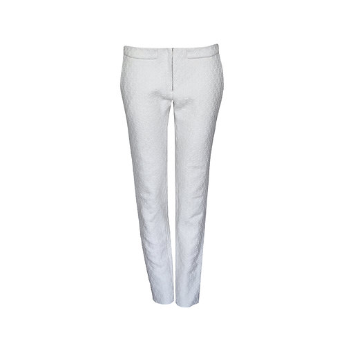 Creme  Wool Mix Trousers