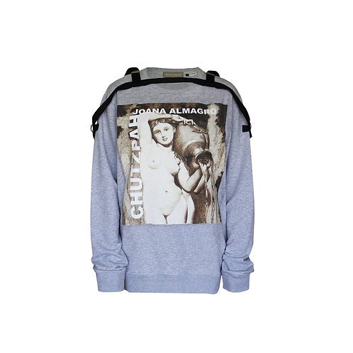 La Source Grey Sweater Dress