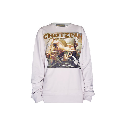 Chutzpah Creme Sweater
