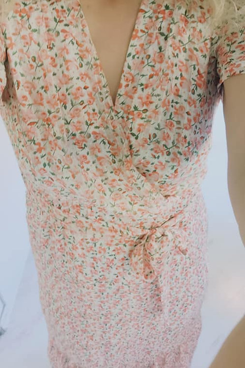 robe longue Flower