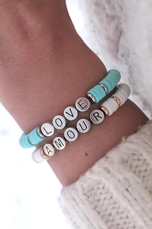 Brecelet Messager Amour