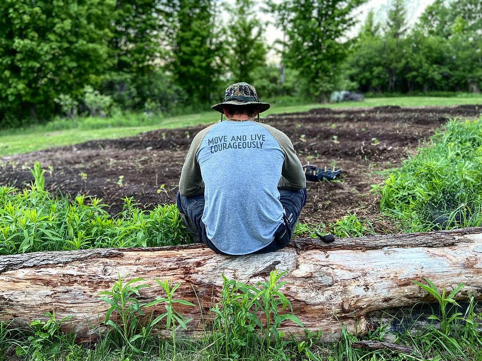 local grown organic farm at Co-Movement gym in Oriskany Falls NY