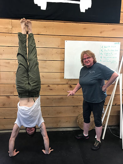 client happy with results from Personal Trainer at Co-Movement gym