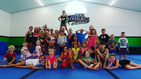 gymnastics gym attached to Co-Movement gym in Oneida County gymnastic fitness class