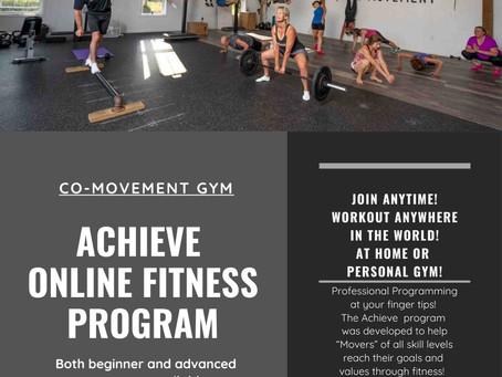 Co-Mo Collective #28- ACHIEVE Online Coaching Program is accepting new clients!