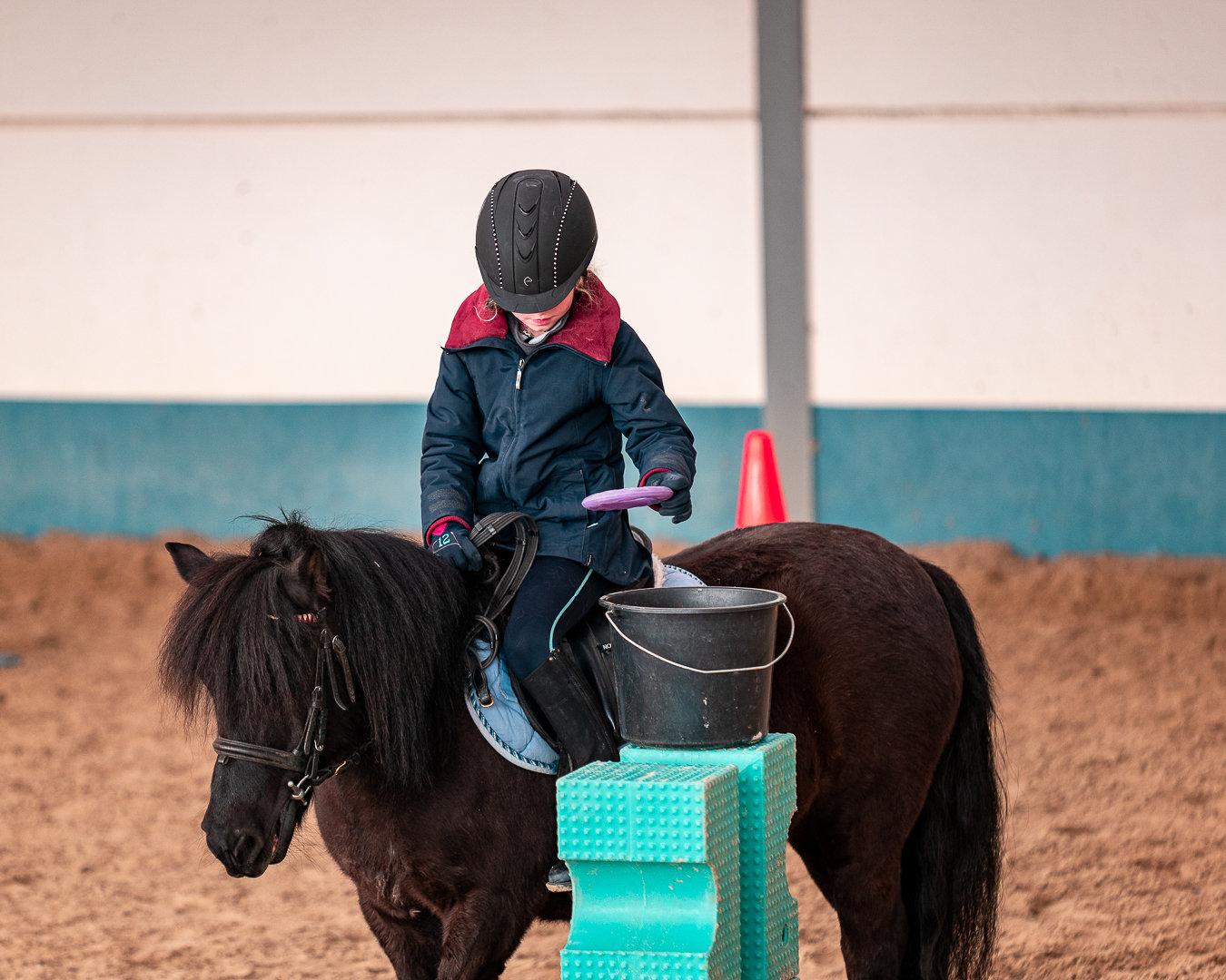 Cours d'équitation (INITIATION)