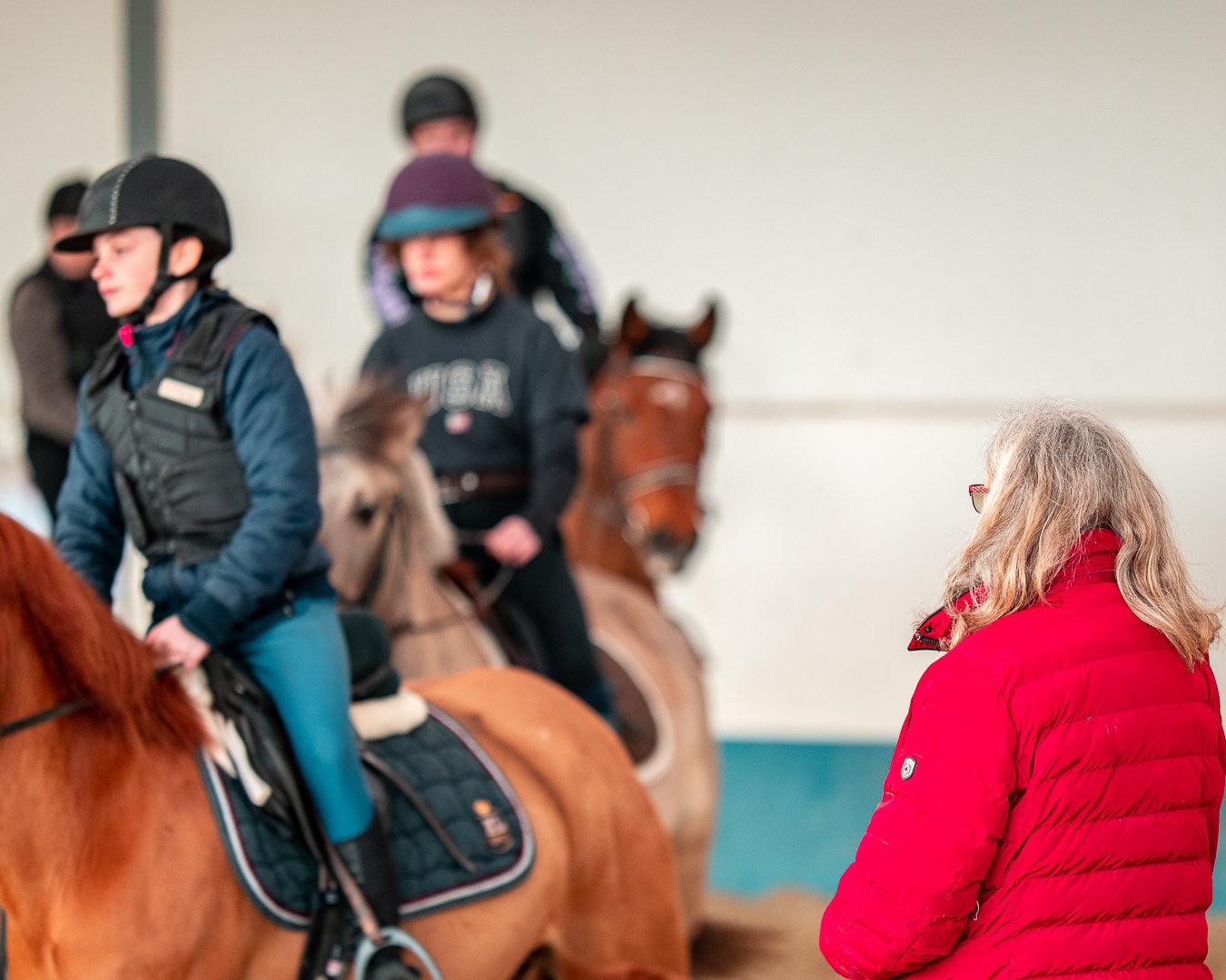 Cours d'équitation (KIDS VARIATION)