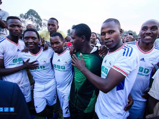 FOOTBALL BRINGS HEALTH + HOPE