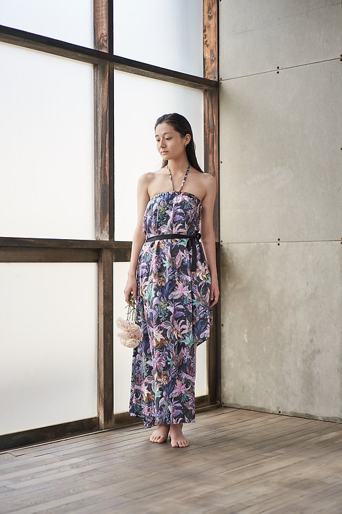 Asymmetry Dress / Anne Floral