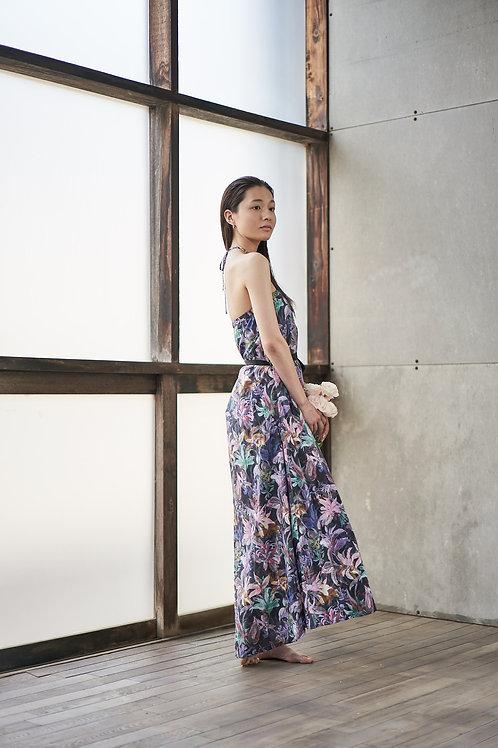 Asymmetry Dress / Anne Floral