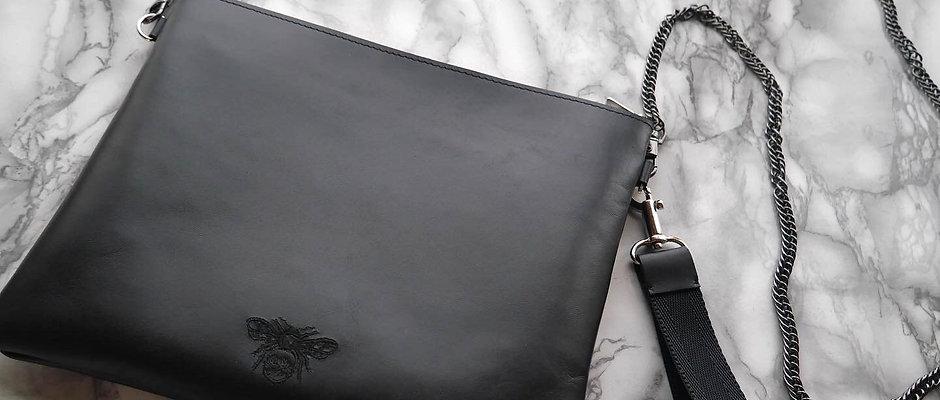 Bee Chain Clutch Bag