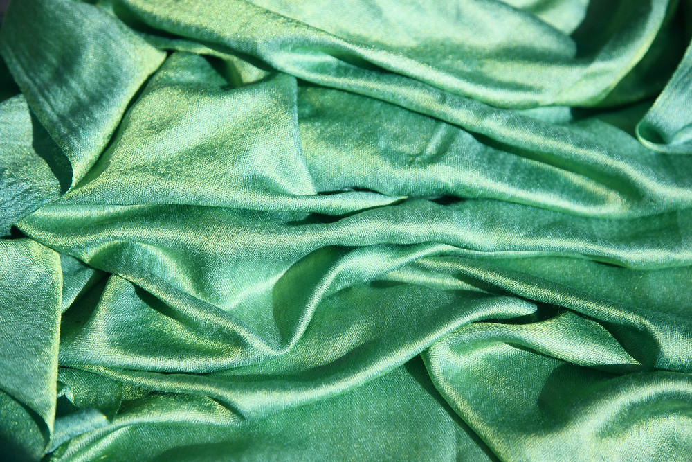 Silk production - eco friendly fabric