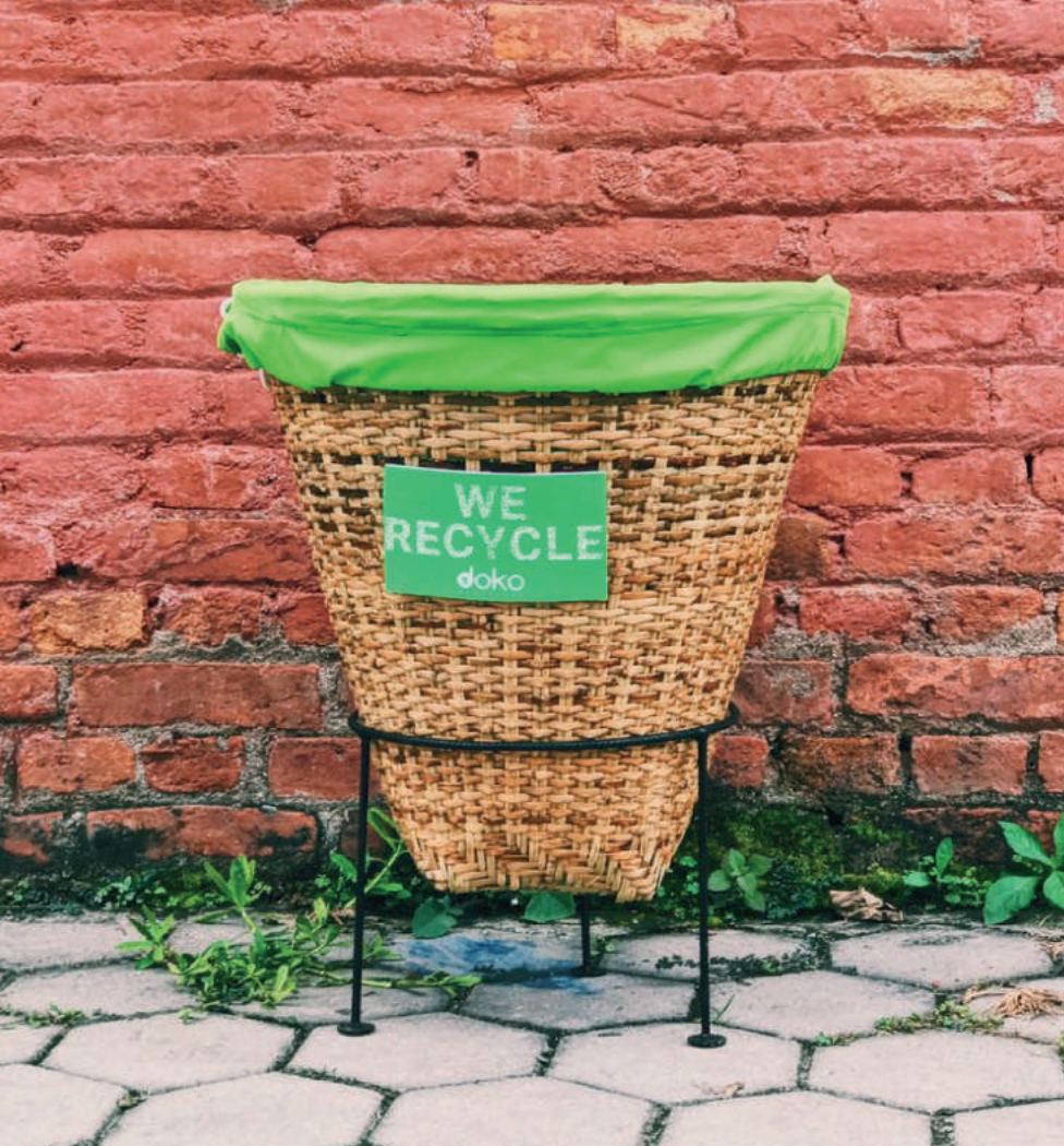 Recycling waste in ethical manufacturing