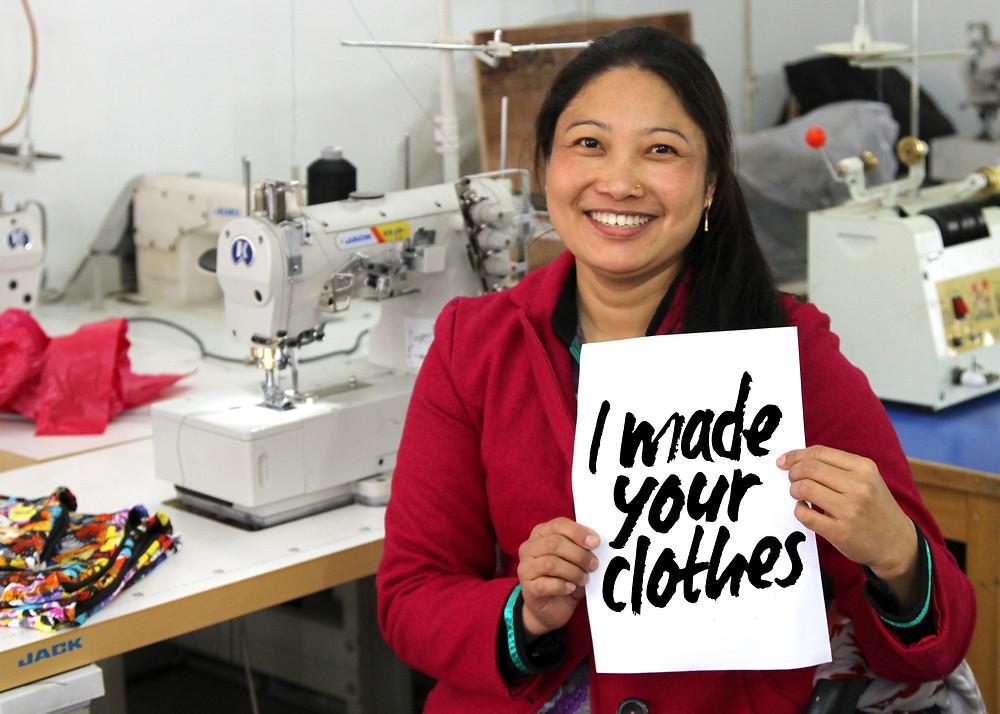 Fashion Revolution #IMadeYourClothes
