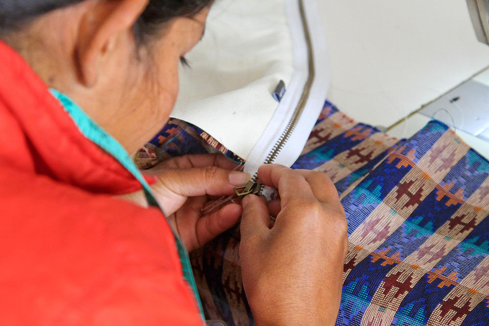 Ethically manufacturing bags